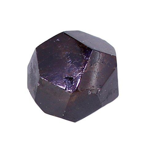 budawi® - facettierter Granat Trommelstein Handstein Taschenstein, Granatkristall