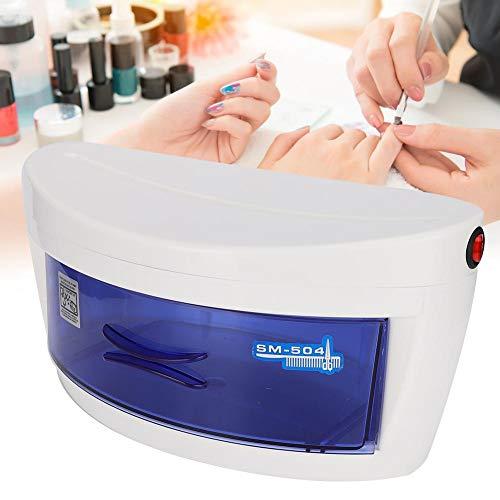 Nagelkunst Cosmetische reinigingsdoos UV-sterilisatiekast Nagelkunst Gereedschapskist voor manicure-instrumenten Telefoons Sieraden Speelgoed Brillen Sanitizer Make-upapparatuur(EU)