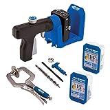 Kreg KPHJ520PRO Pocket-Hole Jig 520PRO, Blue