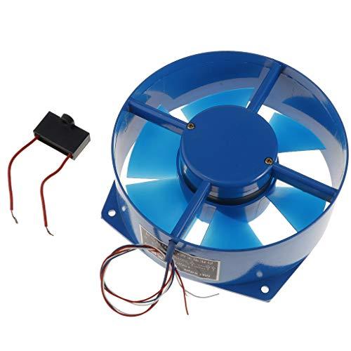 Industrieller 38W / 220V Badlüfter Wandlüfter Deckenlüfter Rohrlüfter Ventilator für Fenster
