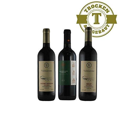 Rotwein Italien Probierpaket trocken Mini 2 (3x0,75L)