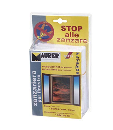MAURER 1190520 Kit Mosquitos Maurer Blanco Puerta 75x250 cm