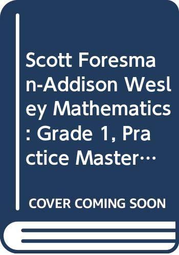 Sfaw Math 2005 Practice Masters Workbook Grade 1