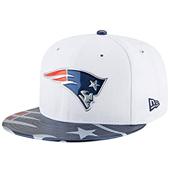 NFL New England Patriots 2017 Draft On Stage 59Fifty Fitted Cap Size 6 7/8 White