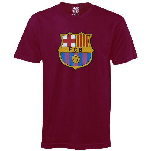 FC Barcelona - Camiseta oficial para hombre - Con el escudo