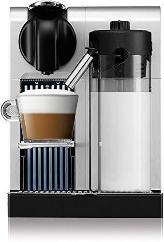 Cafetera Nespresso Lattissima Pro, Color Plata (Incluye obsequio de 14 cápsulas de café)