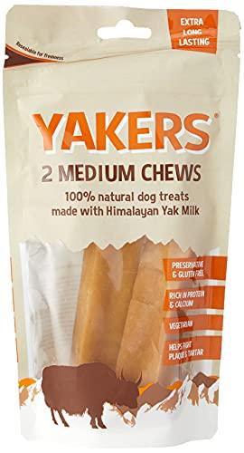 Yakers Dog Chew Medium 2 pack