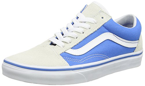 Vans UA Old Skool, Scarpe da Ginnastica Basse Donna, Blu (French Blue/True White), 41 EU