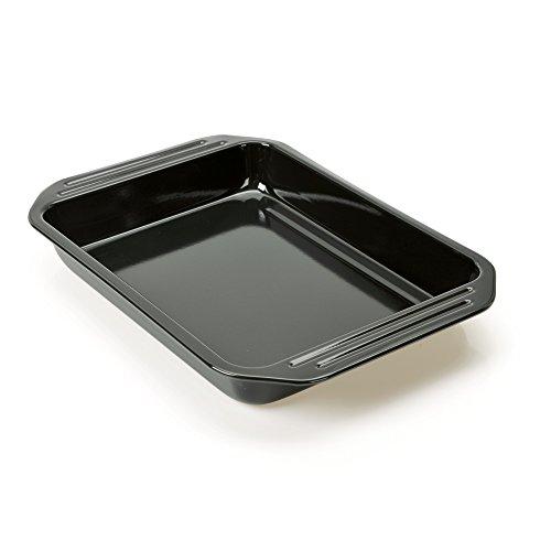 Kaiser 2300635026 Grill et Moule à soufflé Cuisine Line 39,5x28x5 cm, Acier, Noir, 28 x 28 x 18 cm
