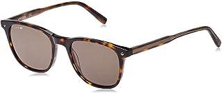 لاكوست نظارة شمسية للرجال , مربع , رمادي