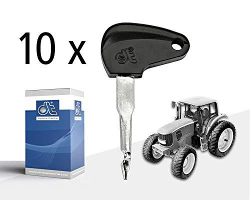 DT Spare Parts Schlüssel 4.60467 10 Stk. Traktor Trecker Schlepper Oldtimer