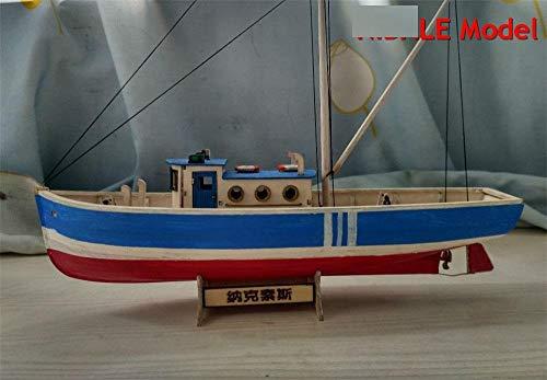 SIourso Maquetas De Barcos para Montar Nueva Versión Kits De Modelo De Barco De Afición Kit De Modelo De Barco De Pesca Oferta Instrucción En Inglés