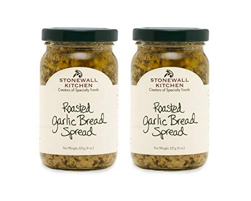 Stonewall Kitchen Roasted Garlic Bread Spread, 2 - 8 ounce jars