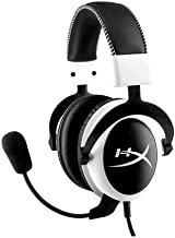 HyperX KHX-H3CLW Cloud Gaming Headset for PC, Xbox One, Xbox One S, PS4, PS4 Pro, Mac, Mobile and VR - White