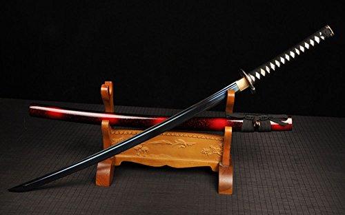 FARDEER Handgemachtes Japanisches Katana Hochwertiges Dongyang Messer Nicht offene Kante WSD-051