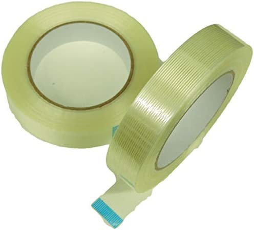 2pk of 1 Filament Strapping Tape 1 in Fiberglass Reinforced Packaging Packing Tape 150 lb Strength product image