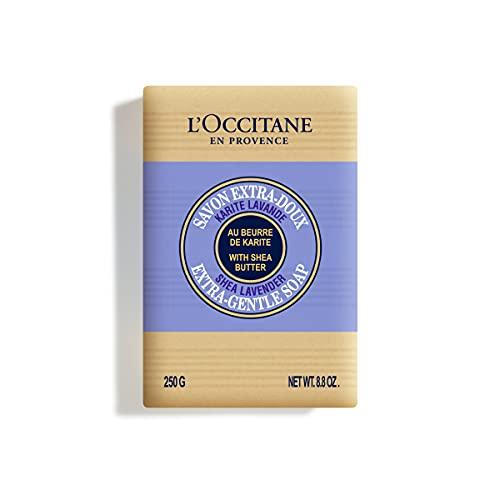L'Occitane Extra-Gentle Lavender Vegetable Based Soap, 8.8 oz