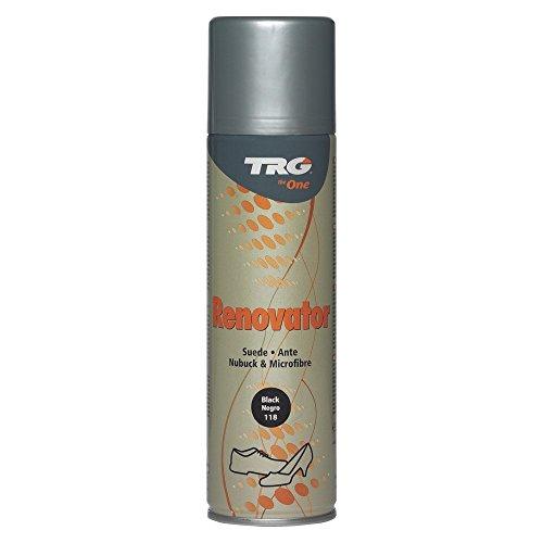 TRG Renovator Leder Spray Nubuk Microfaser Imprägnierspray 250ml (Schwarz 118)