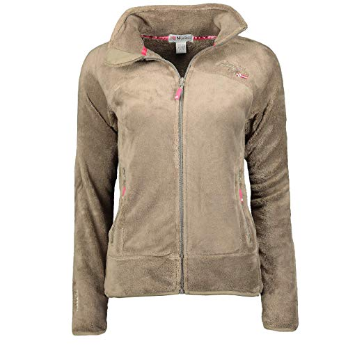 Geographical Norway Damen Fleecejacke Upaline Taupe M