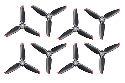 4 Pairs FPV Propellers, Accessory Compatible with DJI FPV First-Person View Drone UAV Quadcopter with 4K Camera