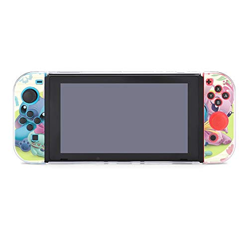 Stitch Case Compatible with Nintendo Switch Case Screen Protector,TPU Protective Heavy Duty Cover Case for Nintendo Switch with Shock Absorption and Anti-Scratch.