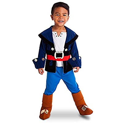 Disney Store Captain Jake & the Neverland Pirates Boys Costume Size 2 Toddler (2), Blue