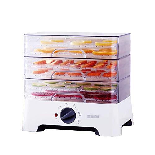 Haushaltsnahrungsmittelkonservierungsmaschine Сушилка для еды, Автоматическая мини-сушилка для фруктов Фрукты и овощи Закуски для домашних животных Сушеные для кухни Сохранение продуктов питания Белый