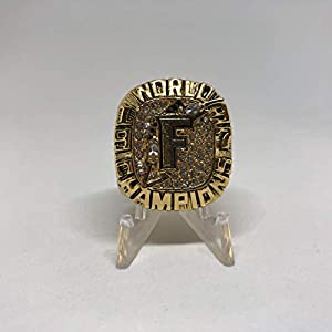 1997 Livan Hernandez Florida Marlins World Series Championship High Quality Replica Ring Size 11-Gold Colored