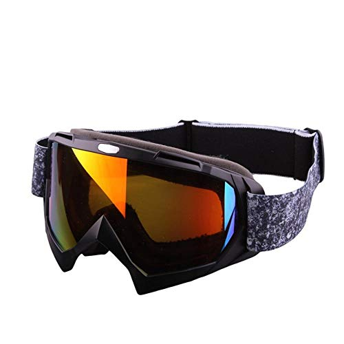 Defect Stilvolle Skibrille für Outdoor Sports-Ski, Klettern, polarisierende schützende Spiegel