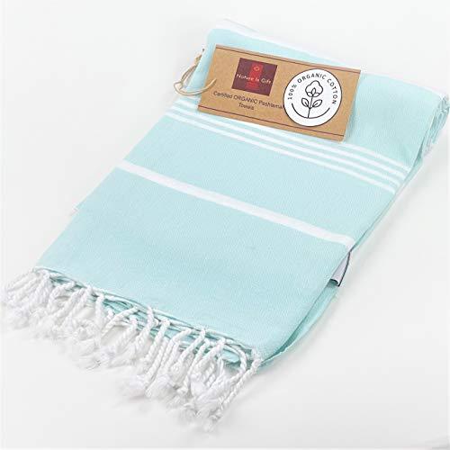 Amazon.com | Organic Pre-washed Cotton Turkish Beach Peshtemal Towels