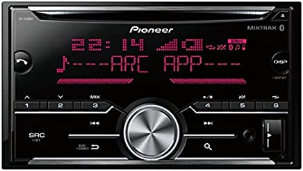 pioneer fh-s709bt cd rds receiver (black)