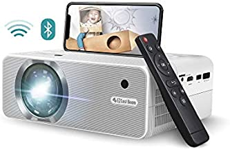 EZCast Beam V3 Portable Mini Wifi Projector | Wired & WiFi Connection, 1080P, 176'' Display, Portable Size, 30,000hrs LED Lamp Life, Works with HDMI, USB, Smartphone, Laptop, PS4, Xbox, Switch, TikTok