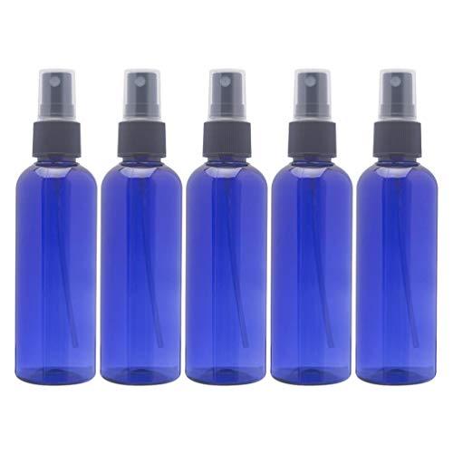 Lurrose Sprühflasche, 100 ml, leer, Blauer Kunststoff, Zerstäuber für ätherische Öle, 10 Stück, blau (Blau) - 493IG2J40LJEBLN21V