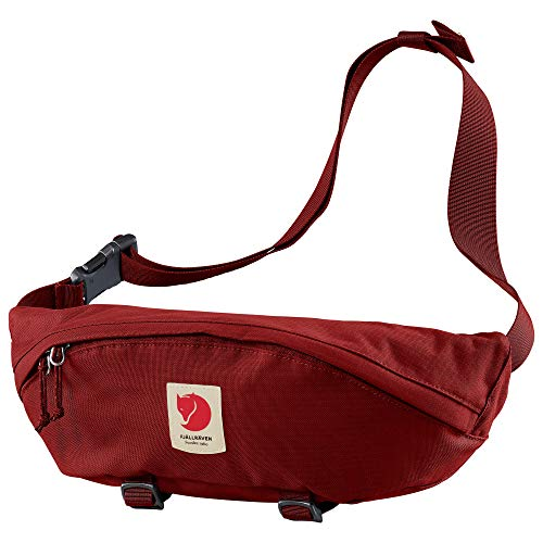Fjallraven, Ulvo Hip Pack Large, Waterproof Fanny Pack for Everyday Use and Travel, Dark Lava