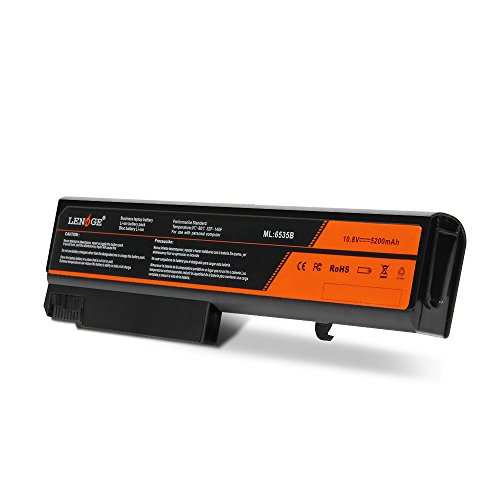LENOGE Capacité supérieure Batterie Li-ION de Remplacement pour HP Compaq 6530b 6535b 6730b 6735b séries ; Compatible pour HSTNN-IB68 HSTNN-IB69 HSTNN-CB69 HSTNN-UB68