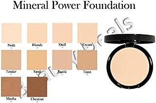 Beauty Deals Mineral Makeup Pressed Powder Foundation - Hypoallergenic- w/sponge (Toast)