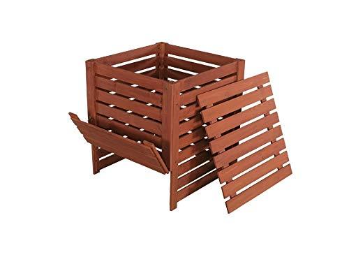 Sale!! Solid Wood Slatted Compost Bin