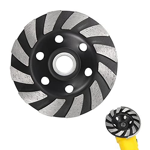 6 '6 agujeros circulares Diámetro interior Tazón de diamante Hoja de molienda Disco de diamante Tazón de disco Copa de pulido Segmento de diamante Muela de molienda para mármol de granito de hormigón