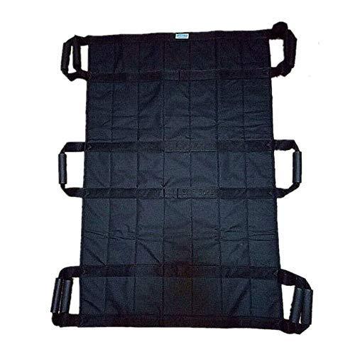 Z-SEAT Transferdecke mit verstärkten Griffen - Wiederverwendbares und waschbares Patientenblatt zum Drehen, Heben und Neupositionieren - Doppelseitiges Nylongewebe - 3 Pers