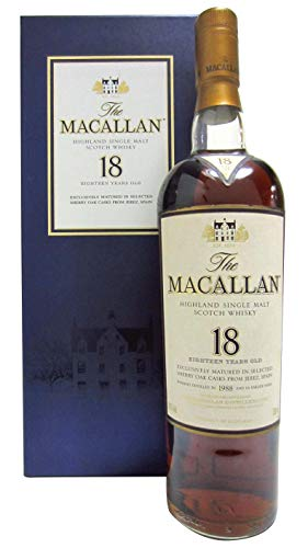 Macallan - Light Maghony Sherry Oak - 1988 18 year old Whisky