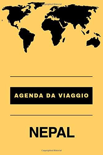 Agenda da viaggio NEPAL: Diario | Taccuino per scrivere se stessi | Regalo perfetto per ogni viaggiatore