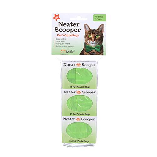 Neater Pet Brands 360200HD3 Scooper Refill Bags Green