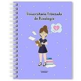 Libreta Psicología A5 - Universitaria Estresada