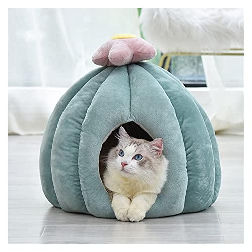 xinlianxin Cálida suave cama para dormir cojín cactus mascota gato perro nido lavable transpirable casa gato invierno caliente saco de dormir cachorro