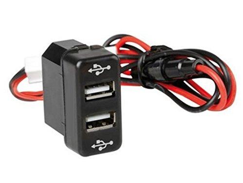 Empotrable de salida doble cargador USB Dual camión con fusible