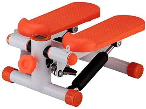 DSG Página de inicio silenciosa pequeña máquina de pérdida de peso ejercicio equipo de fitness instalación libre pérdida de peso pie caminar escalada máquina-naranja