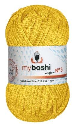 Myboshi Nr. 5, Farbe 513 löwenzahn