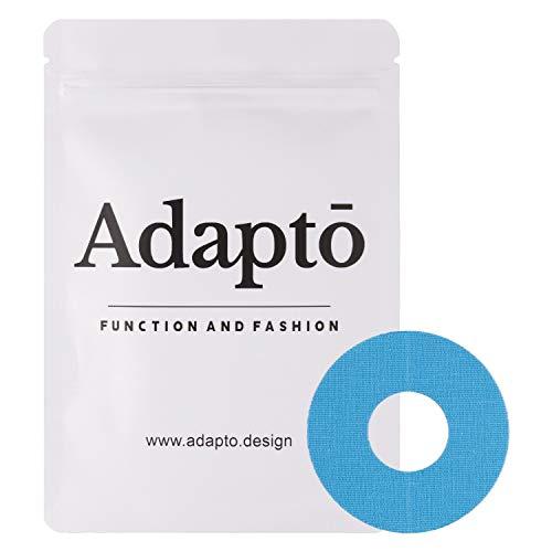 Adapto FreeStyle Libre Klebepflaster   Für Diabetes-Sensor   Wasserfest, hypoallergen   10er-Pack, Blau