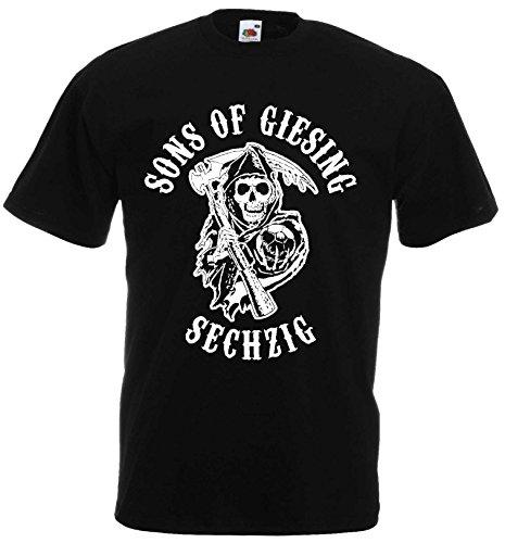 1860 Herren T-Shirt Sons of Giesing Ultras SECHZIG|schwarz-L