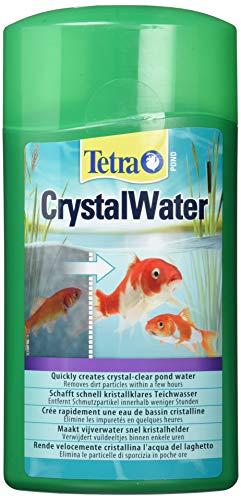 Tetra Pond CrystalWater – Soins de l'eau des bassins d'ornement et de jardin - Clarificateur d'eau – Rend l'Eau Cristalline – 1 L